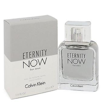 Eternity now eau de toilette spray by calvin klein 548260 50 ml