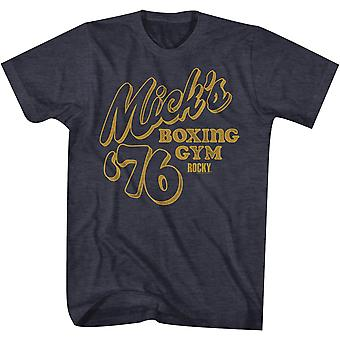American Classics Rocky Mick's Boxing Gym T-Shirt - Navy Heather