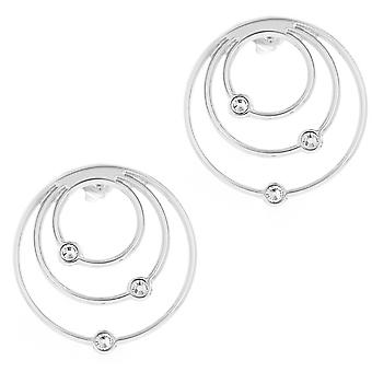 Earrings The InterchangeableS A59170 - Creoles Orbite Palladium