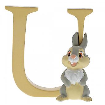 Disney Enchanting Collection Letter U - Thumper