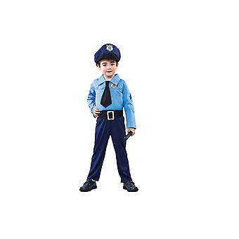 Police costume COP police costume for children 2-3 years size 104 T2