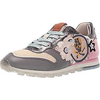 Coach Womens C118 with Mini Vintage Rose Print Low Top Lace Up Fashion Sneakers