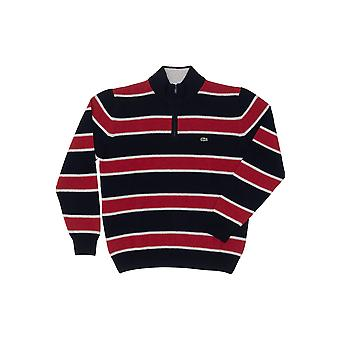 Red Sweater Lacoste Man