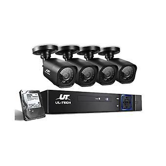 Cctv 2Tb 4Ch Dvr 1080P 4 Zestawy kamer
