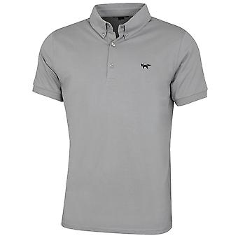 Wolsey Mens Jersey Polo Self Cut & Sew Collar Golf Polo Shirt