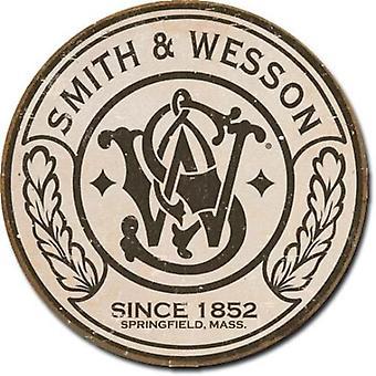 Smith & wesson retro tin sign