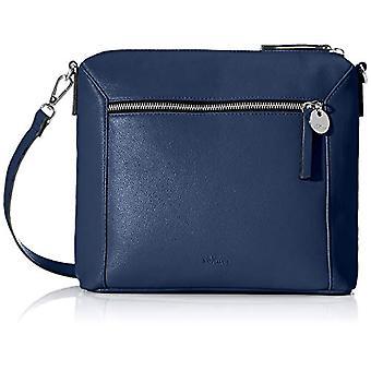 s.Oliver (Bags) 39.001.94.2025 Women's Pockets Shoulder BagBlue (Blue) 8.5 Cmx 245 Cmx 27 Centimeters (B x H x T)