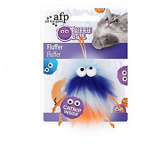AFP Fluffer Azul Furry Ball (Cats , Toys , Teaser Wands)