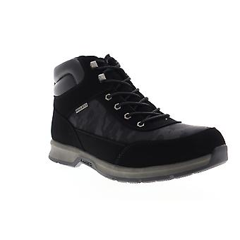 Lugz Scavenger X  Mens Black Nubuck Leather Casual Dress Boots