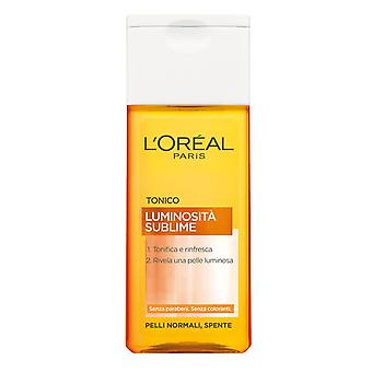 L'Oreal Luminosita Sublime Tonic Cleanser for Face Refresh 200ml for Normal, Dull Skin