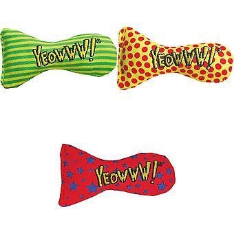 Yeowww Stinkies Catnip Dots Cat Toy
