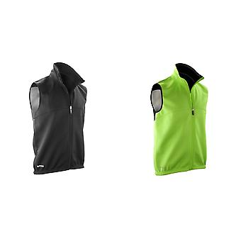 Spiro Mens Airflow Sports Training Gilet / Bodywarmer
