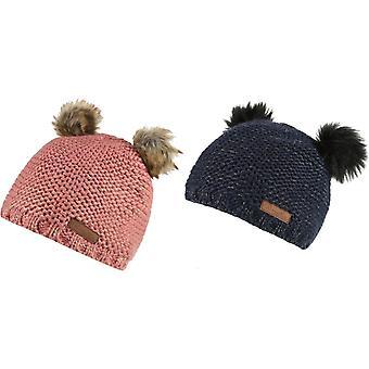 Regata meninas Hedy Lux chapéu Pom Pom quente andando de malha chapéu do Beanie