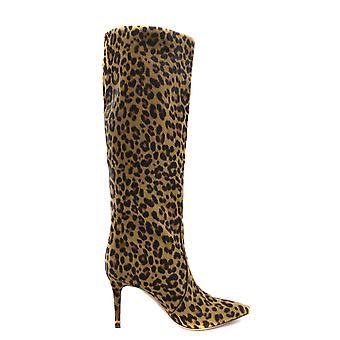 Gianvito Rossi Ezbc443005 Women's Multicolor Leather Ankle Boots