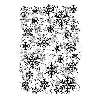 Woodware Clear Stamp - Snow Flurry
