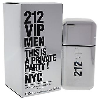 Carolina Herrera 212 VIP Uomini Eau de Toilette Spray 50ml