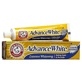Arm & hammer advance white extreme whitening, stain defense, mint, 6 oz