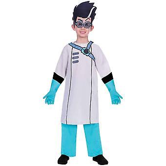 PJ Masks Romeo Costume 3-piece para crianças pijamas heróis fantasia Romeo