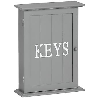 Hill Interiors Wooden Keys Box With Six Hooks