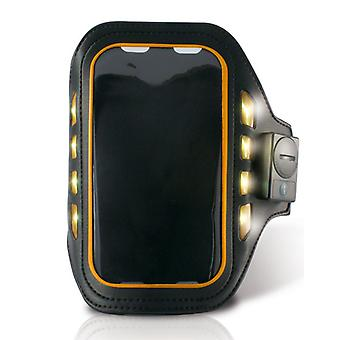 Sportsarmbånd med LED KSIX 4