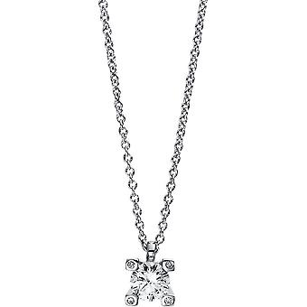 Diamond Collier Collier - 18K 750/- White Gold - 0.26 ct. - 4D995W8-2