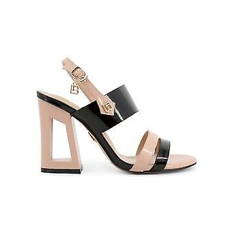 Laura Biagiotti - sko - sandal - 6296_PATENT_BLACK - damer - sort,papayawhip - EU 38