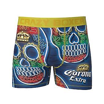 Corona Sugar Skull Men's Boxer Slips
