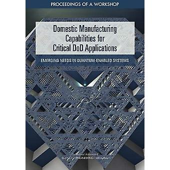 Domestic Manufacturing Capabilities for Critical DoD Applications - Em