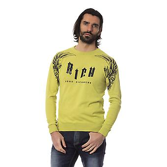 Rich John Richmond Greenc Sweater -- RI81766384