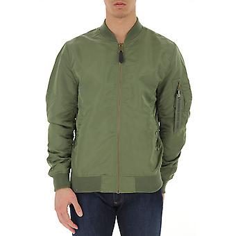 Alpha Industries Ezcr026006 Uomini's Camouflage Nylon Outerwear Giacca