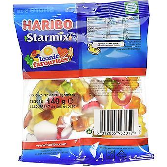 HARIBO Starmix 1.7kg, dulces a granel, 12 paquetes de 140g