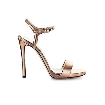 MARC ELLIS COPPER LEATHER SANDAL