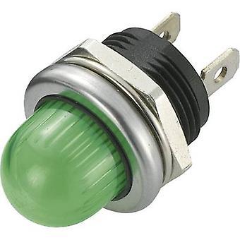 TRU COMPONENTS 1587989 LED indicator light Green 12 V DC TC-R L1-02 aux.9-105-WGG 4