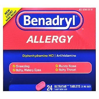 Benadryl alergia úľavu Ultratabs