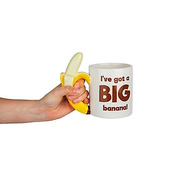 Banana Tasse Bananentasse I got a big banana Scherzartikel 600 ml