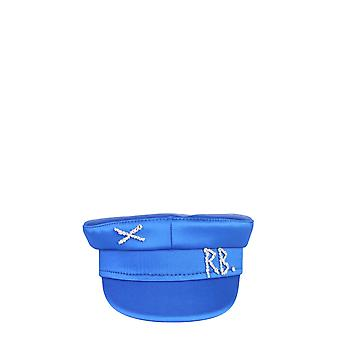 Ruslan Baginskiy Kpc077stndmdblue Women's Blue Satin Hat