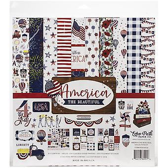 Echo Park America The Beautiful 12x12 Inch Collection Kit