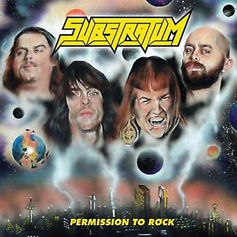 Substratum - Permission to Rock [CD] USA import