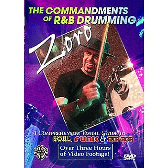 Zoro - Commandments of R&B Drumming [DVD] USA import