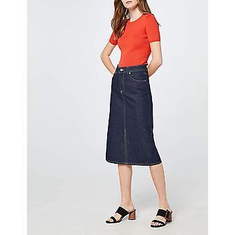 Brand - find. Women's Large Buckle Block Heel Sandal Black), US 6