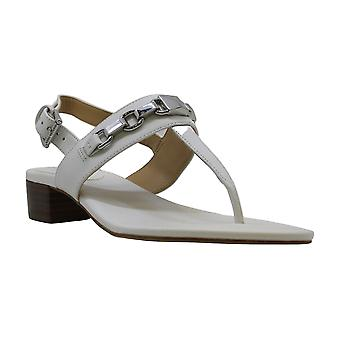 Michael Michael Kors Womens Charlton Sandal Leather Split Toe Casual Slingbac...