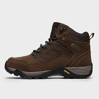 North Ridge Women's Luxor 2 Mid Waterproof Walking Boots Brown