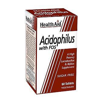 Acidophilus med fos 60 tabletter