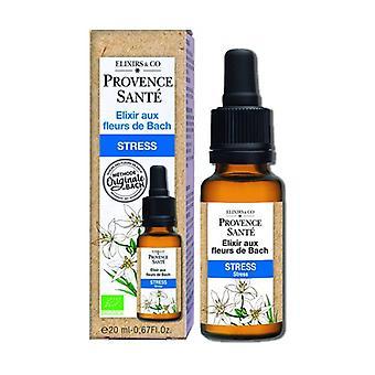 ORGANIC stress 20 ml of floral elixir
