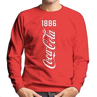 Coca Cola Vertical 1886 Homme-apos;s Sweatshirt