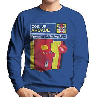 Haynes Coin Up Arcade Vinkkejä Miesten&s Collegepusero