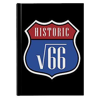 Route V66 Hardback Journal