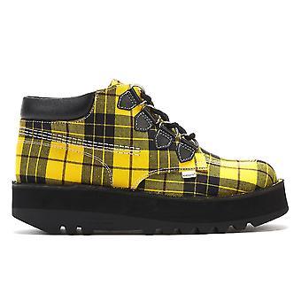 Kickers Kick Hi Creepy Womens Yellow Boots Kickers Kick Hi Creepy Womens Yellow Boots
