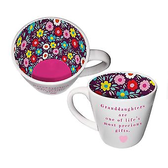 Two Up Two Down Granddaughters Mug