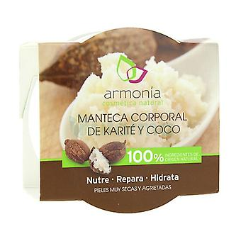 Body Butter (Shea and Coconut) 100 ml of cream